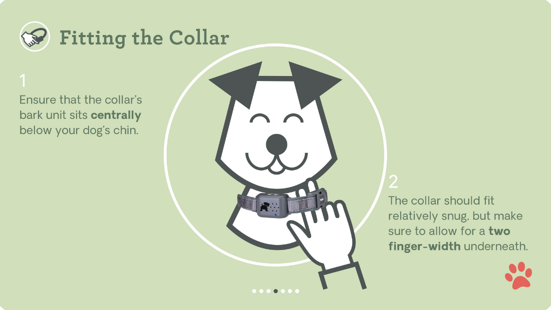 Tips to fit the Pavlov No Bark Collar